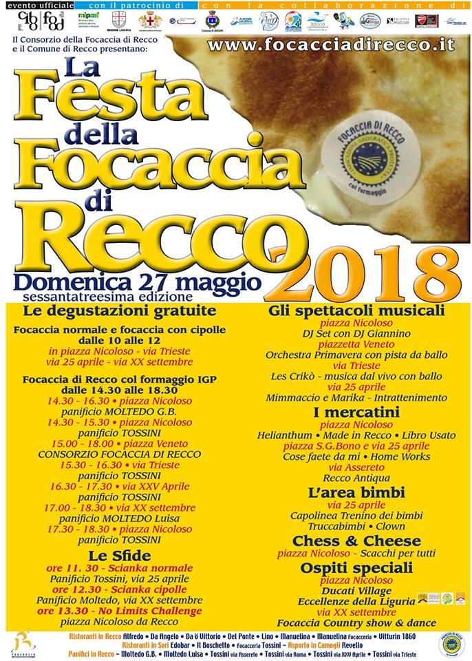 Festa Focaccia Di La ReccoModeemodi Press Della b6fyg7